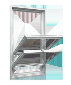 Double hung open Windows